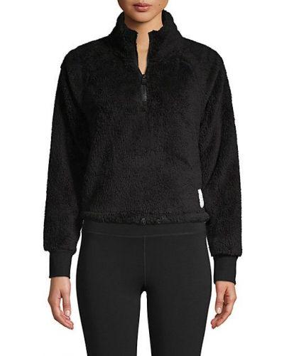 Приталенный пуловер с воротником-стойка с рукавом реглан Calvin Klein Performance