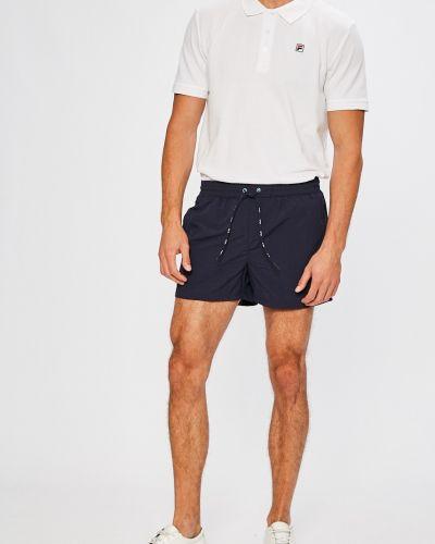 Спортивные шорты на резинке свободные Fila