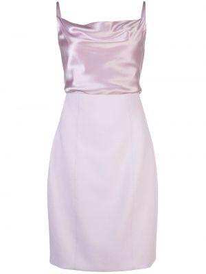 Приталенное фиолетовое платье с вырезом Cinq À Sept