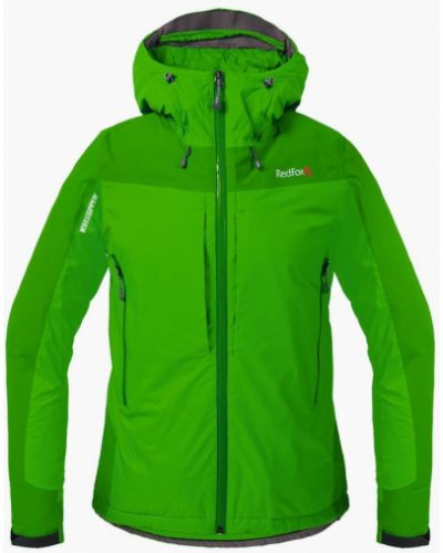 Утепленная куртка зеленая золотая Red Fox