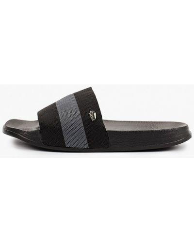 Черные пляжные шлепанцы Gioseppo
