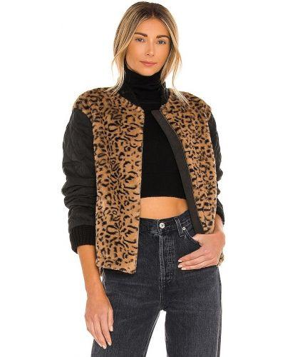 Стеганая куртка - коричневая Heartloom