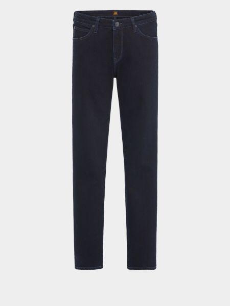 Синие хлопковые джинсы классические Lee