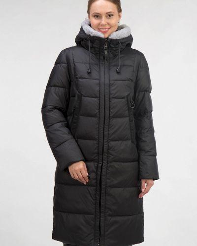 Зимняя куртка утепленная черная Ostrich