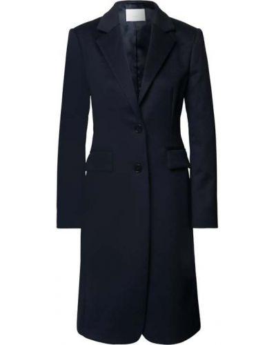 Niebieski z kaszmiru płaszcz Boss
