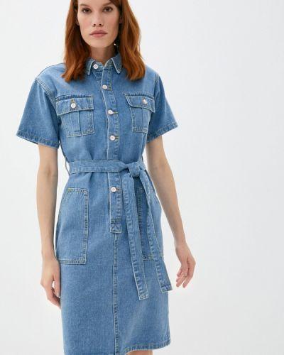Синее джинсовое платье Fadjo