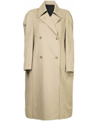 Коралловое длинное пальто Ll By Litkovskaya
