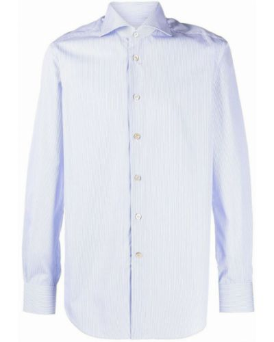 Niebieska koszula Kiton