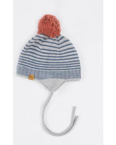 Зимняя шапка с узором с помпоном Coccodrillo