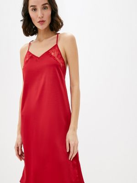 Рубашка красный дефиле