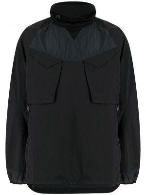 Черная длинная куртка Maharishi