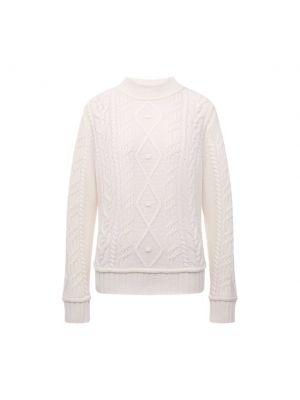 Белая кашемировая свитер Ftc