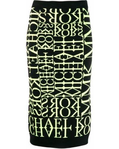 Юбка карандаш миди с завышенной талией Michael Kors Collection
