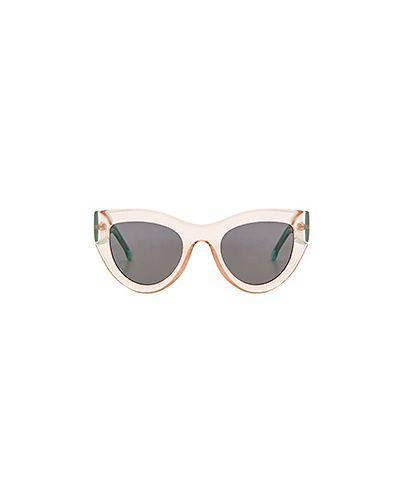 Солнцезащитные очки металлические каркасный Komono