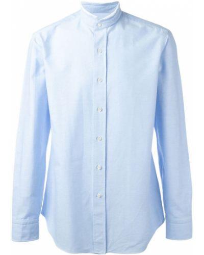 Классическая рубашка синий Salvatore Piccolo