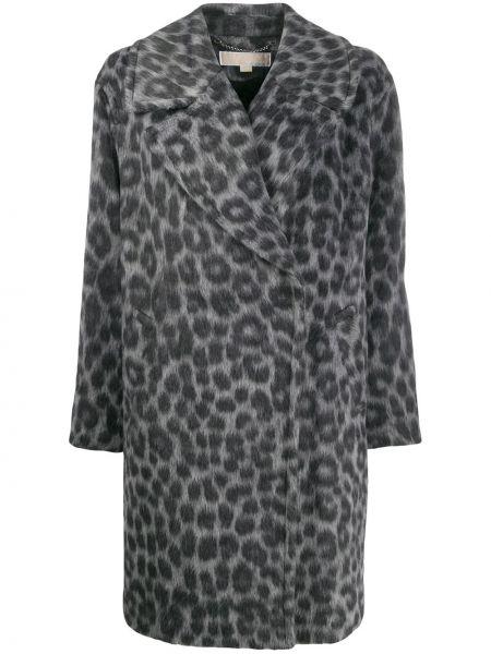 Терракотовое шерстяное пальто Michael Michael Kors