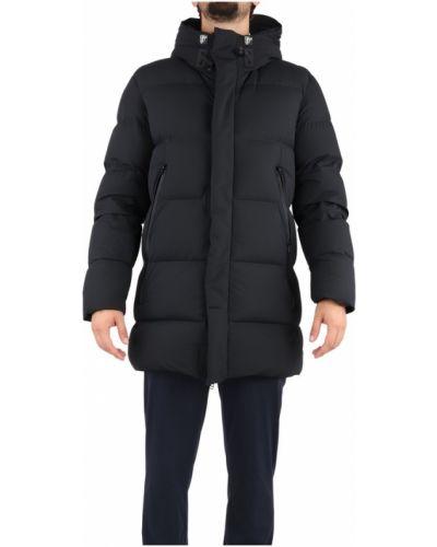 Czarny długi płaszcz Freedomday