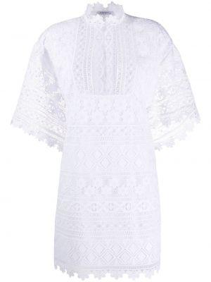 Biała sukienka mini bawełniana Vivetta