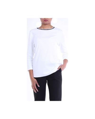 Biały sweter Cappellini