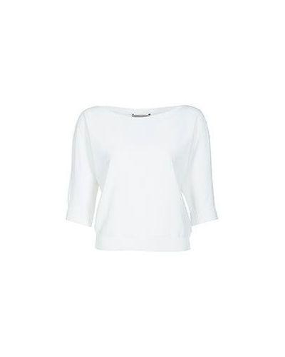 Блузка белая из вискозы D.exterior