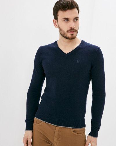 Синий пуловер Conte Of Florence
