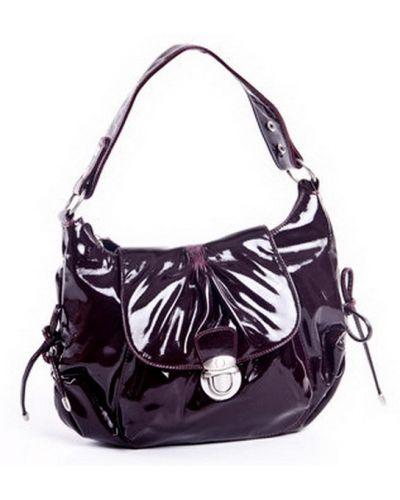 Кожаная сумка - черная Bulaggi
