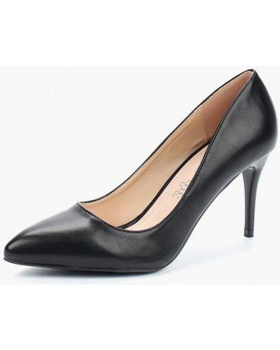 Черные кожаные туфли Rio Fiore