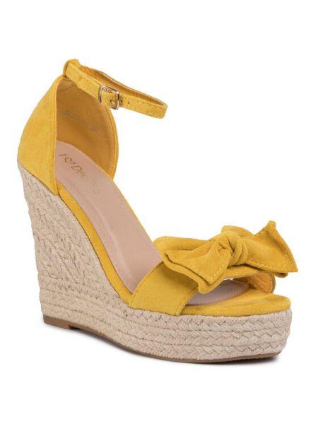 Espadryle - żółte Deezee