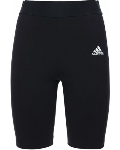 Хлопковые шорты эластичные Adidas Performance