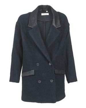 Niebieski płaszcz przeciwdeszczowy Naf Naf