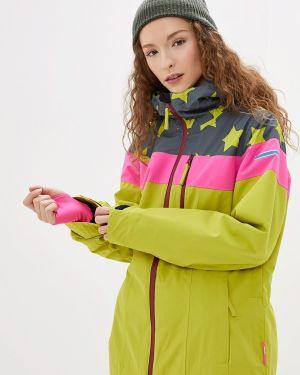 Горнолыжная куртка осенняя зеленая Icepeak