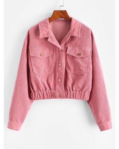 Куртка вельветовая - фиолетовая Zaful
