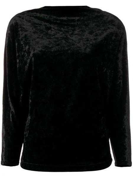 Блузка черная Plein Sud