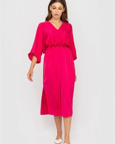 Прямое платье - розовое Sfn