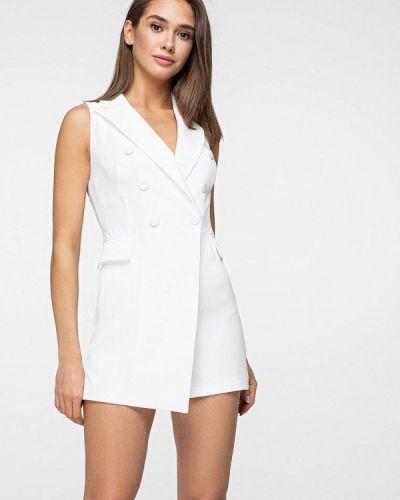Комбинезон с шортами белый Itelle