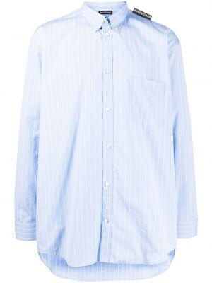 Koszula z długim rękawem klasyczna z paskami Balenciaga