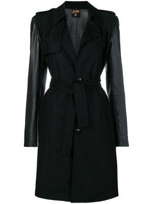 Пальто с поясом с воротником узкого кроя на пуговицах Jean Paul Gaultier Pre-owned