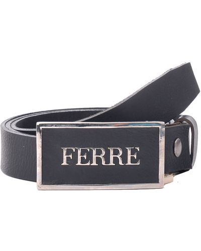 Ремень черный Gianfranco Ferre