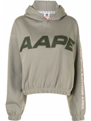 Zielona klasyczna bluza Aape By A Bathing Ape
