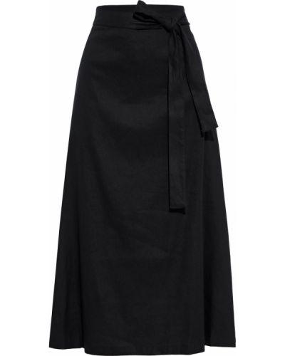 Czarna spódnica midi Dkny