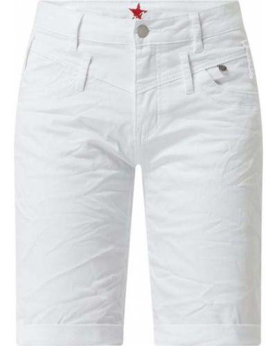 Białe szorty bawełniane Buena Vista