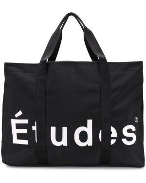 Czarna torba na ramię Etudes