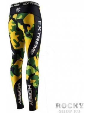 Спортивные брюки на резинке зеленый Extreme Hobby