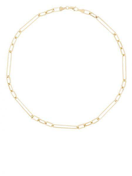Żółty łańcuch ze złota z ozdobnym wykończeniem Loren Stewart