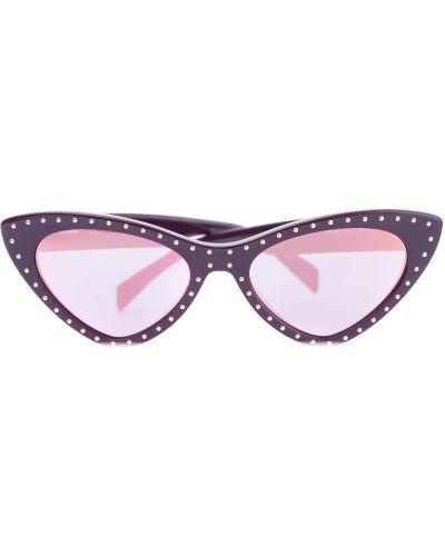 Солнцезащитные очки металлические пластиковые Moschino