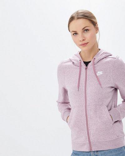 Фиолетовая толстовка Nike