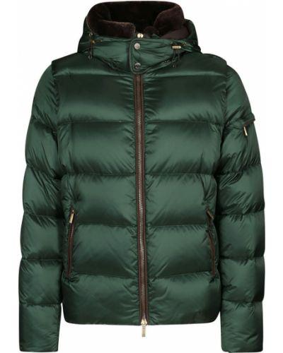 Zielony płaszcz Moorer