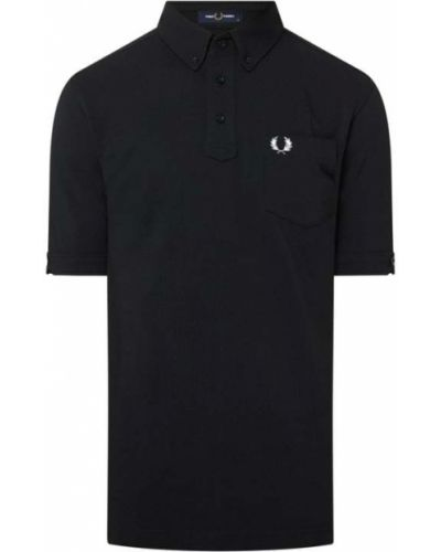 T-shirt bawełniana - czarna Fred Perry