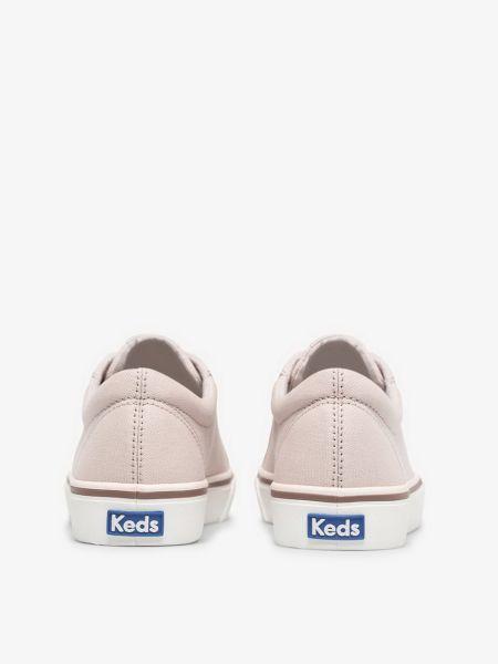 Мягкие фиолетовые низкие кеды винтажные Keds