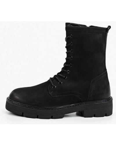 Высокие ботинки - черные Marco Tozzi